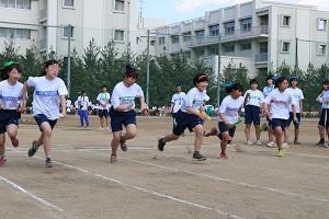 クラス対抗リレー決勝500m(女子)
