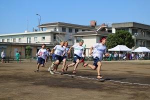 クラス対抗リレー決勝1000m(男子)