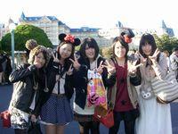 東京ディズニーリゾートへの校外ホームルームの様子 その6